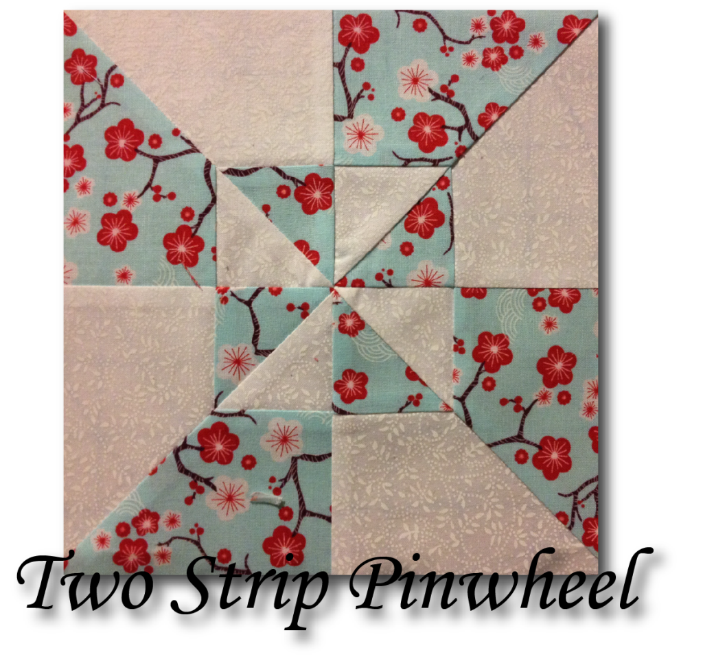Two Strip Pinwheel